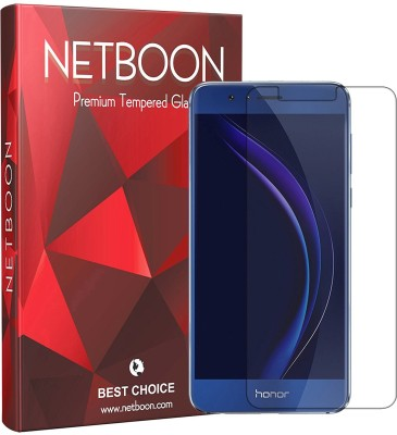 Netboon Tempered Glass Guard for Honor 8(Pack of 1)