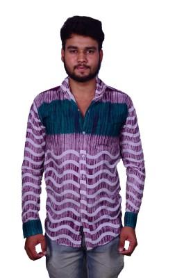 layba Men's Printed Casual Multicolor Shirt