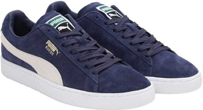 4066f9195ee8 49% OFF on Puma Suede Classic + Sneakers For Men(Blue) on Flipkart ...