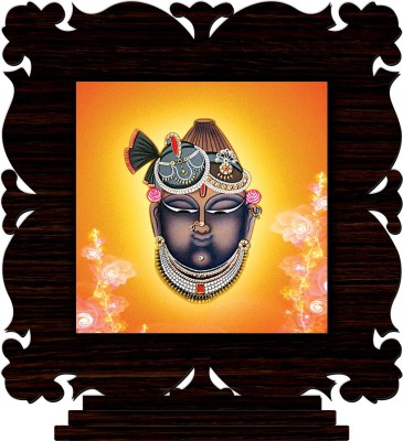 CRAZYINK Lord Shrinathji Decorative Showpiece   10 cm