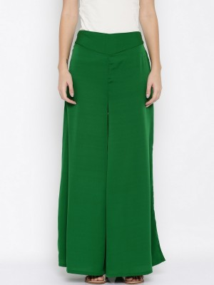 DARZI Flared Women Multicolor Trousers