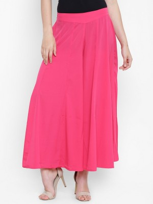 DARZI Flared Women Pink Trousers