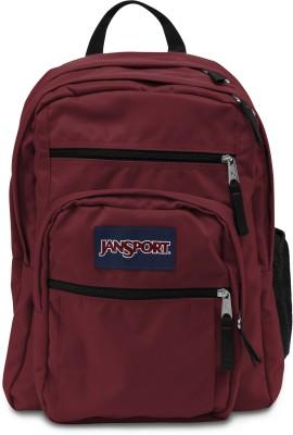 JanSport Big Student Viking Red 34 L Backpack(Red)