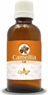Crysalis CAMELLIA OIL 100% NATURAL PURE UNDILUTED UNCUT CARRIER OIL(100 ml)