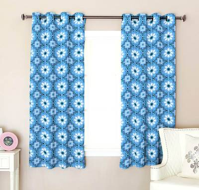 Flipkart SmartBuy Polyester Window Curtain 152 cm (4 ft) Pack of 2