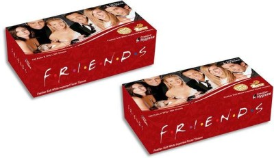 Creative Hygiene Creative Hygiene Friends Facial Tissue Paper Box 2 Ply 100 Pulls Pack Of 2(Pack of 400)  available at flipkart for Rs.146