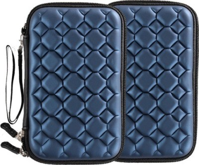 FrndzMart Bubble Chocolate Design Toughened External HDD Pouch for 2.5 inch inch External WD MyPassport Hard Disk 1/2/4 TB(Blue)(For 2.5 inch External Hard Disk Drives, Blue)  available at flipkart for Rs.1099