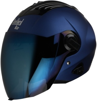 Steelbird AIR SBA-3-Matt Motorbike Helmet(Yamaha Blue)