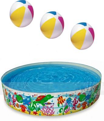 Intex 58472 Portable Pool(2.44 m, 0.6 m)