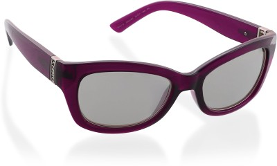 DKNY Rectangular Sunglasses(Silver) at flipkart