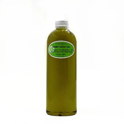 Hemp Seed Oil Pure Organic Cold Pressed by Dr.Adorable(473 ml)
