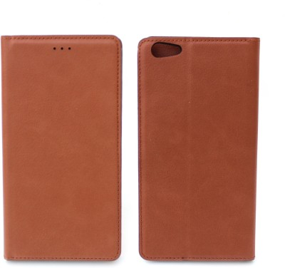 Fashion Flip Cover for Vivo Y69(Brown)