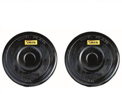 Iris 6 Kg Adjustable Black Weight Plate