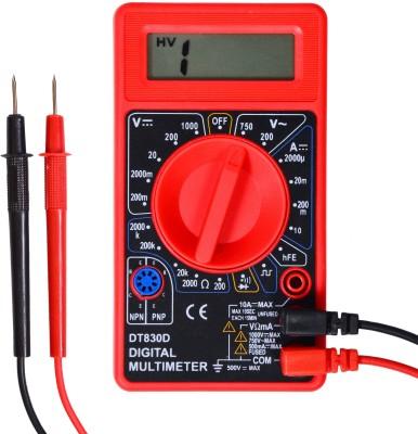 Visko DT830D Digital Multimeter(Red, Black 2000 Counts)