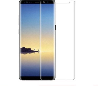 Maxpro Edge To Edge Tempered Glass for 5D Tempered Glass Samsung Galaxy Note 8 Full Transparent Glass(Pack of 1)