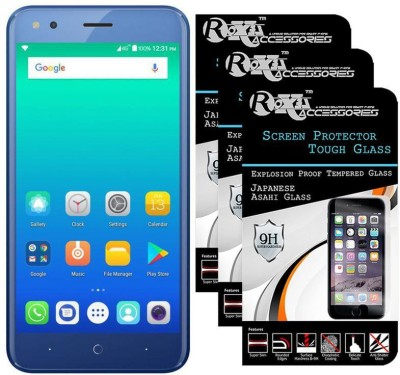 Roxel Tempered Glass Guard for Micromax Bharat 4