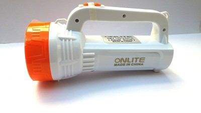 Onlite MO-BVFJ-ODIQ Torch(White : Rechargeable) at flipkart