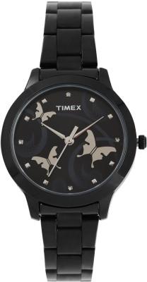 Timex Analog Black Dial Women's Watch, TW000T609
