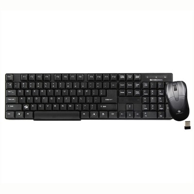 Zebronics Wireless Keyboard & Mouse Companion 6 Combo Set  available at flipkart for Rs.949