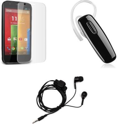 ROBMOB Screen Protector Accessory Combo for MOTO G3(Multicolor)