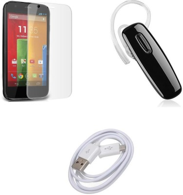 COZR Screen Protector Accessory Combo for MOTO G3(Multicolor)