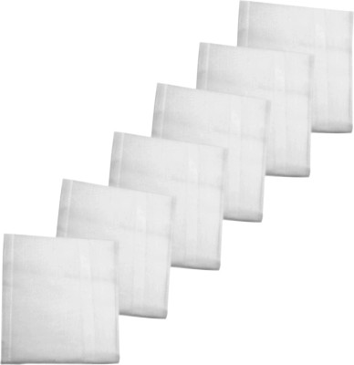 K.S. Collection Big Size Cotton 150 GSM Hand, Face Towel Set(Pack of 6)