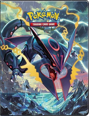 Ultra Pro Pokemon Card Portfolio Album featuring Rayquaza & Groudon Ancient Origins(Multicolor)  available at flipkart for Rs.6119