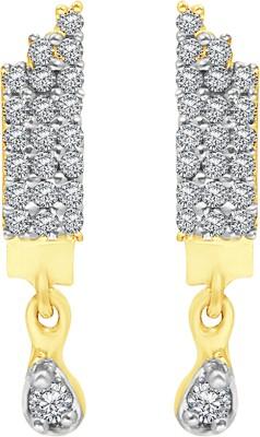 08667157c Heena Jewellery Sparkling White Stone Studded Cubic Zirconia Brass ...