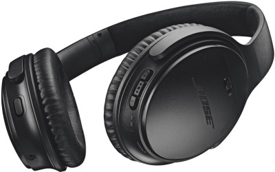 Bose Quietcomfort 35II Active noise cancellation enabled Bluetooth Headset(Black, On the Ear)