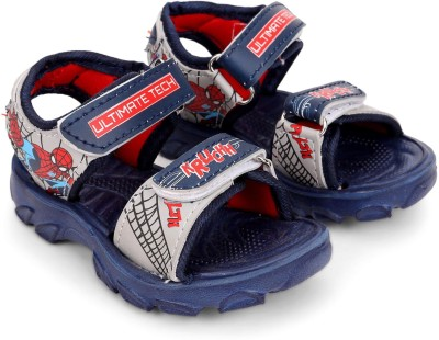 Spiderman Boys Velcro Sports Sandals(Blue)  available at flipkart for Rs.175