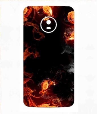 Snooky 44SknMtoG5 Motorola Moto G5 Mobile Skin(Orange)
