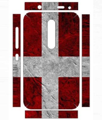 Snooky 779SknNkiaAsha501 Nokia Asha 501 Mobile Skin(Red)