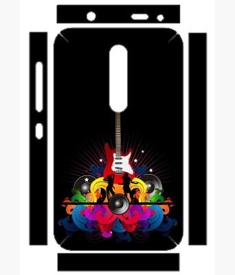 Snooky 164438 Nokia Asha 501 Mobile Skin(Black)