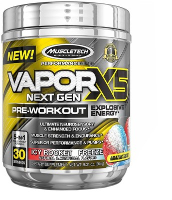 MuscleTech Vapor X5 Next Gen Dietary Supplements (264GM)