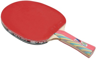 GKI Kung-FU DX Multicolor Table Tennis Racquet(Weight - 150 g)  available at flipkart for Rs.690