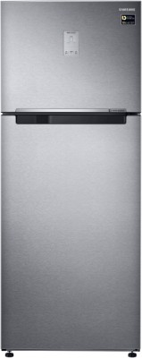 SAMSUNG 465 L Frost Free Double Door 3 Star Refrigerator(EZ Clean Steel, RT47M623ESL/TL)