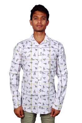 Layba Men's Printed Casual Shirt