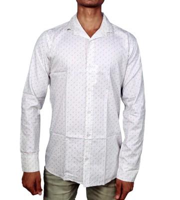 Layba Men's Printed Formal Shirt