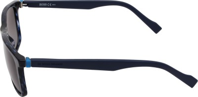 Boss Orange Rectangular Sunglasses(Blue) at flipkart