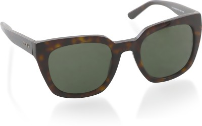 DKNY Over-sized Sunglasses(Green) at flipkart