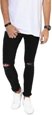 Xee' Slim Men Black Jeans