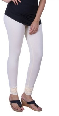 33cd93a6b23faa View Lux Lyra Women's Off White Leggings Churidar Legging(White, Solid)  Price Online