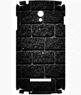Snooky Oppo R815T Clover Mobile Skin(Black)