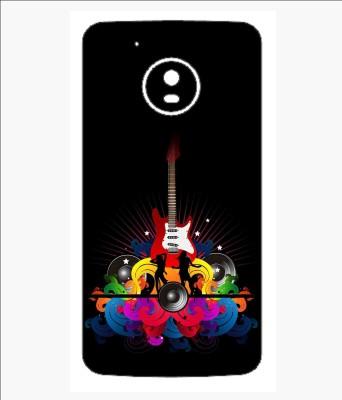 Snooky 50SknMtoG5 Motorola Moto G5 Mobile Skin(Black)