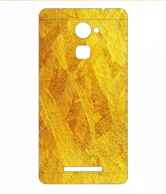 Snooky Panasonic Eluga Mark Mobile Skin(Yellow)