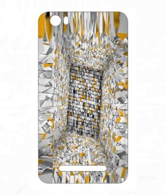 Snooky 823SknMicroCnvsJuice4GQ461 Micromax Canvas Juice 4G Q461 Mobile Skin White