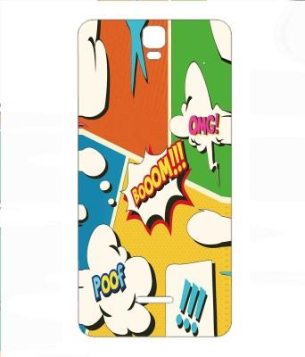 Snooky Micromax A190 Canvas HD plus Mobile Skin(Multicolor)