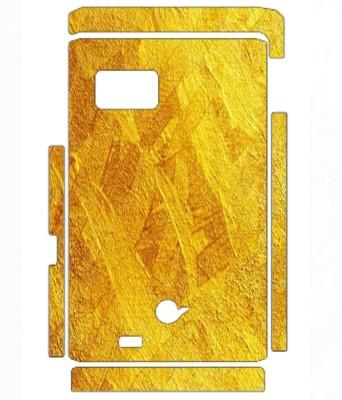 Snooky Samsung W999 Mobile Skin(Yellow)