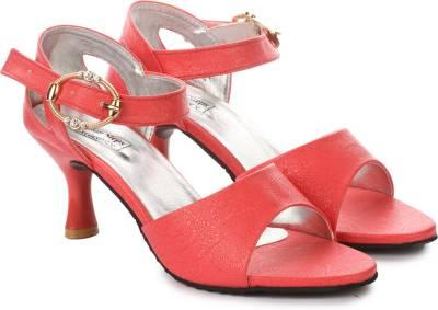 London Steps Women Red Heels