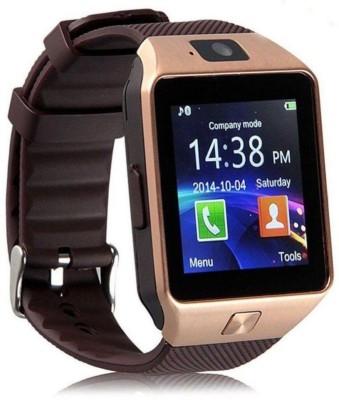 IKJ Smart Watch Brown Smartwatch(Brown Strap Free Size) at flipkart
